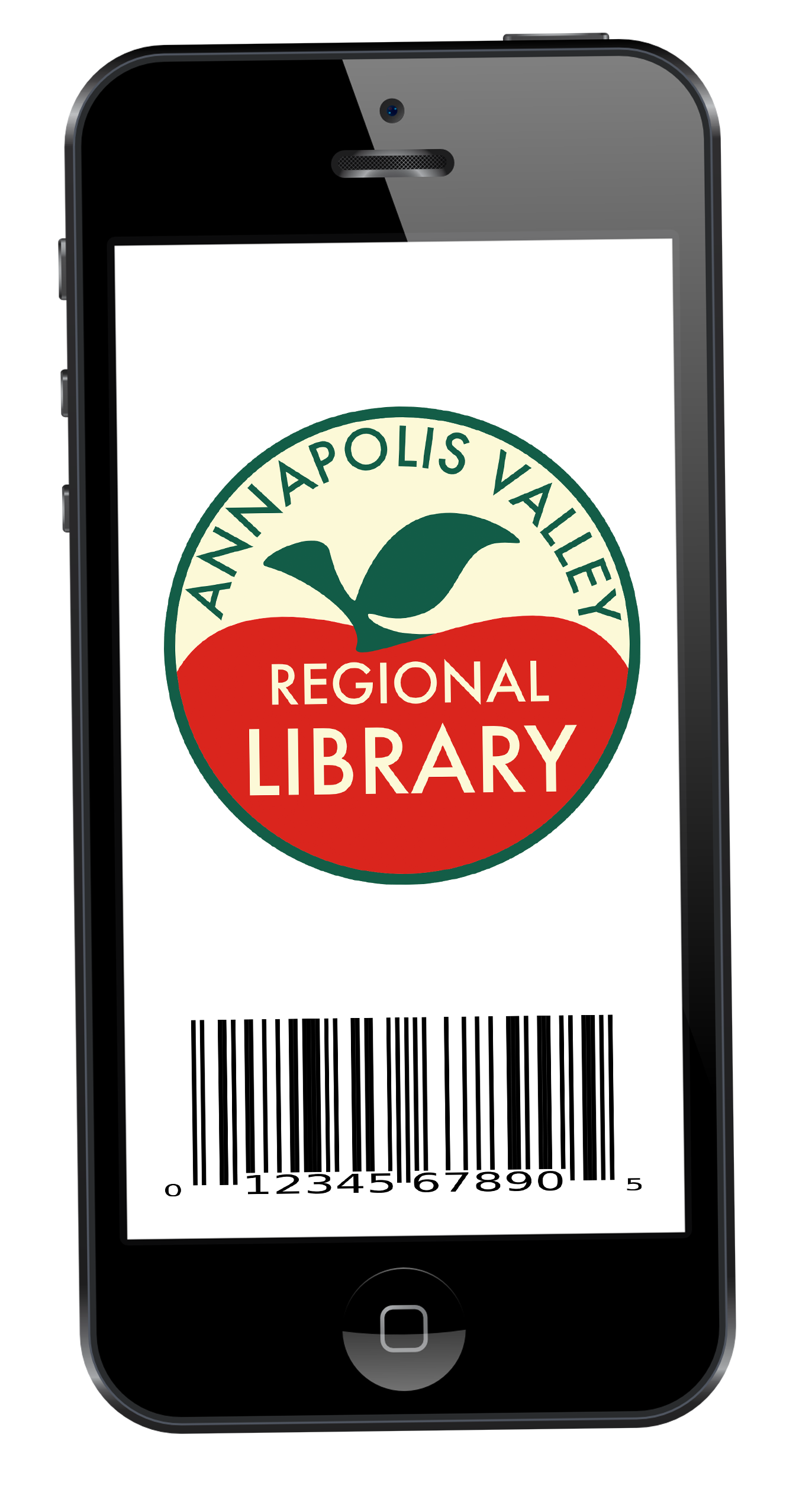Store your library card in a mobile app