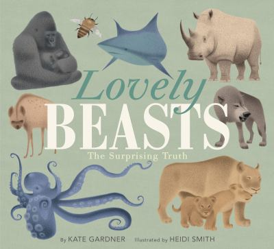 book cover with gorilla, shark, and other animals