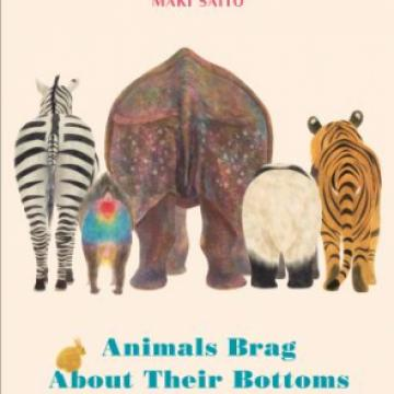 book cover with animals
